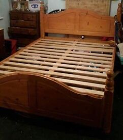 King size bed with 3 under bed draws