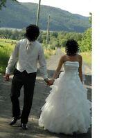 Paloma Blanca 4116 Size 10 WEDDING DRESS