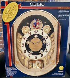 Seiko QXM153BRH Special Collector Edition 2007 Melodies in Motion Clock Musical