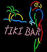 Tiki Bar Lighted Sign