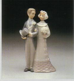 LLADRO FIGURINE No. 4808 'WEDDING'