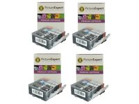 16 Ink Cartridges for Canon Pixma PGI-5 CLI-8 iP4200 IP4300 iP5200 MP500 MP600R