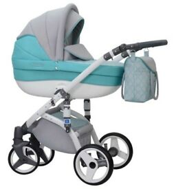 Beautifull pram for sale.