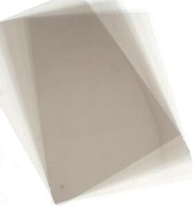 10 A3 Acetate Sheets TRANSPARENCY OHP ACETATE FILM WOW! PVC Acetate 240 micron