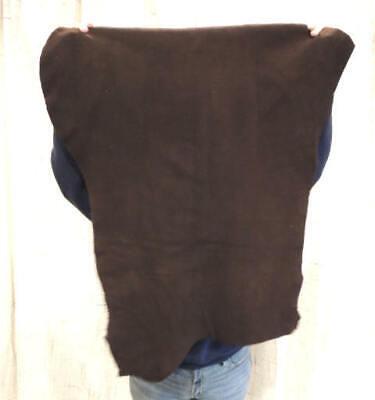 WALNUT Deerskin Leather Hide For Native Crafts Buckskin Taxidermy Antler Mount - $19.99