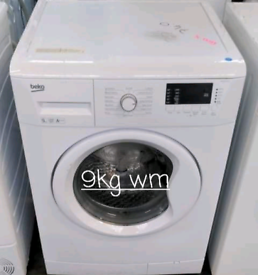 Beko 9kg washing machine free delivery in Leicester