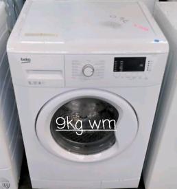 Beko 9kg washing machine free delivery in derby