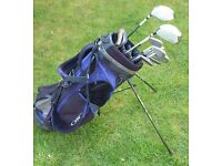 Set of PowerBilt golf clubs and Ogio bag (selling on behalf of local Cub Scouts)