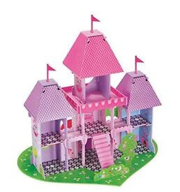 Fairy tale castle - ELC - high quality wooden castle in immaculate condition