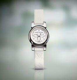 Women's Louis Vuitton tambour watch brand new