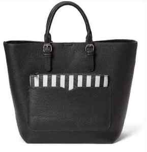 """BNWT Black Large 2 in 1 Tote bag 17"""" x 13 inches & smaller purse West Island Greater Montréal image 1"""