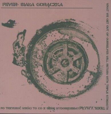 Fever- Biała Gorączka – Pływy blue Vinyl LP polish hc punk  biala goraczka