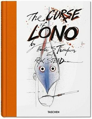 THE CURSE OF LONO - HUNTER S. THOMPSON (HARDCOVER) NEW
