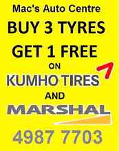 Buy 3 get 1 free tyres Raymond Terrace Port Stephens Area Preview