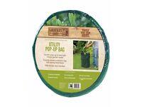 Pop Up Garden Utility Bag - Black