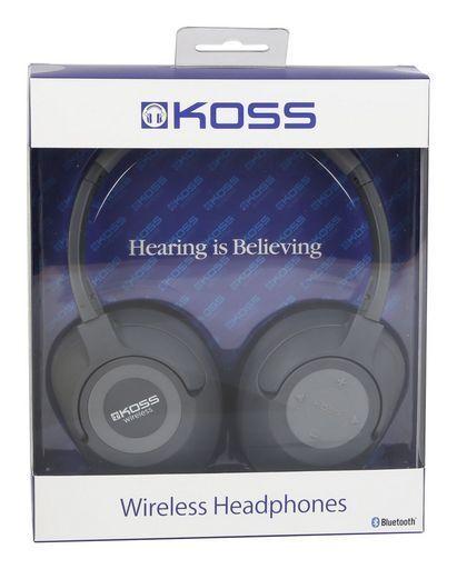Koss BT539IK Wireless Bluetooth Over Ear Headphones with Mic