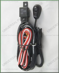 Spotlight-Spot-Fog-Light-Wiring-KIT-Universal-Fit-Excellent-Quality