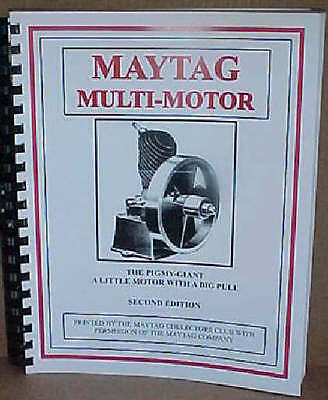 Maytag Multi-motor Book Manual Upright Fruit Jar 82 92 72 Elgin Gas Engine