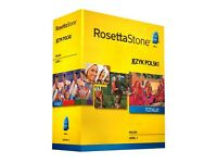 Rosetta Stone Polish Level 1 Course for Beginners