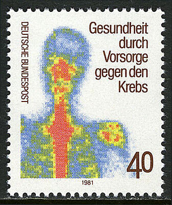 Germany 1348, MNH. Early examination for the prevention of cancer, 1981
