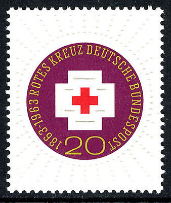 Germany 865, MNH. Red Cross, centenary, 1963