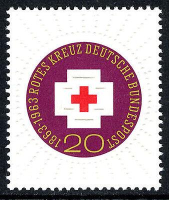 Germany 865, MNH. Red Cross, centenary, 1963