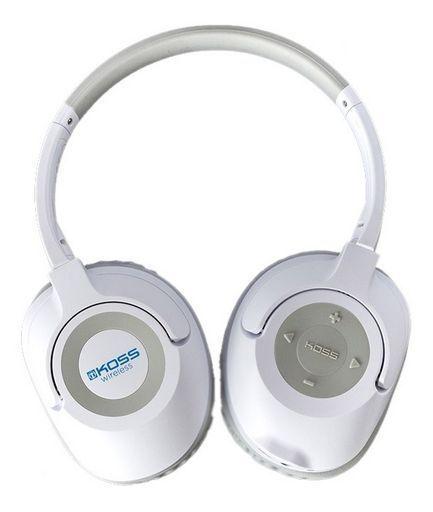 Koss BT539IW Wireless Bluetooth Over Ear Headphones with Mic