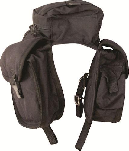 CASHEL English Front Pommel Saddle Bag Black