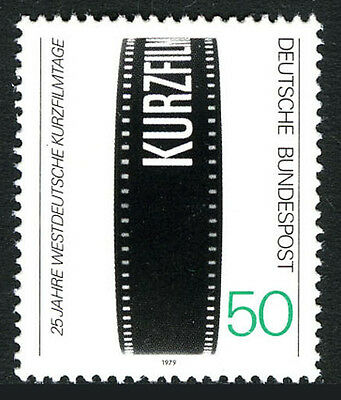 Germany 1288  Mnh  25Th German Short Film Festival  1979