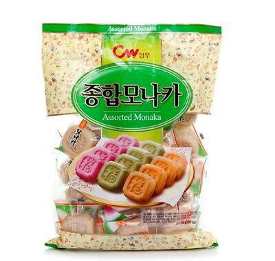 Korean Traditional Snack Sweet ASSORTED MONACA  350g 1EA