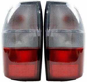 Pair of Tail Lights Mitsubishi Triton 06/01-06/06 New MK 02 03 04 05 Rear Lamps