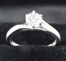 $6K+ GIA Diamond Engagement Ring - 3X Ideal Cut! Stunning Design! Melbourne CBD Melbourne City Preview