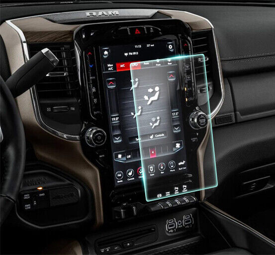 Crystal Clear Screen Protector for 2020 Ram 2500 12in Vehicle Navigation