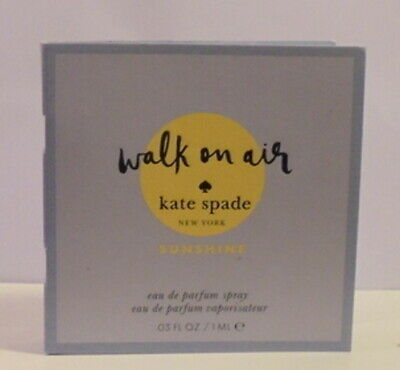 Kate Spade Walk on Air Cologne Perfume Spray Test Sample Bottle Royal ML Vial OZ