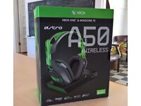 OFFERS ACCEPTED - Astro A50 Boxed Xbox One / Xbox One X Gaming Headset Perfect Condition Boxed
