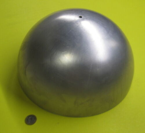 "Aluminum Half Sphere / Balls 12.0"" Diameter x 6.00 Height, 1 Piece"