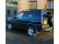 Freelander td4 2005 full leather and mot hse with108000 miles