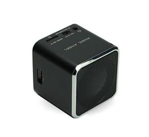 Mini Music Angel Digital Speaker for PC Support USB Micro SD TF Card FM MP3 MD07