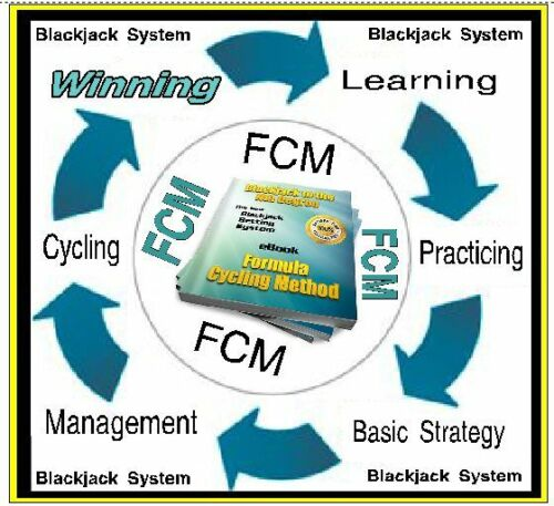Blackjack Betting System - 167 Page eBook  - Formula Cycling Method