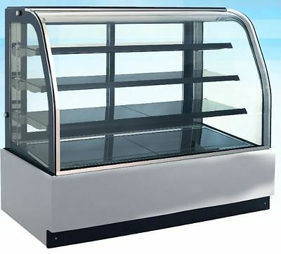 Omcan Rs-cn-0600 59w X 53h Refrigerated Cold Bakery Pastry Cake Display Case