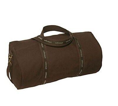 J P Morgan Jpmorgan Chase 21  Original Duffel Banker Bag Brown Brown