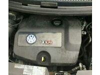 VW Sharan, Ford Galaxy or SEAT Alhambra Complete 1.9 TDI Engine