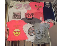 Girls small bundle of tops