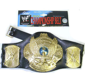 WWF World Wrestling Federation Championship Wrestling Belt Costume Accessory