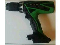 Hitachi 18 volt cordless impact drill driver unit only