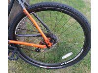 Alexrims G6000 rear xlite front