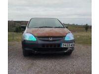 Honda Civic Type S 2001 1.6 5doors