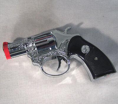 SHOCKING PISTOL GUN + FLASHLIGHT Prank Gag Gift Joke ()
