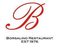 Borsalino Restaurant Kitchen & Waiting Staff Required