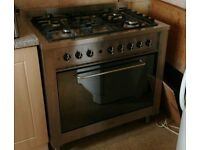 5 Hob Gas Cooker | Electric Oven